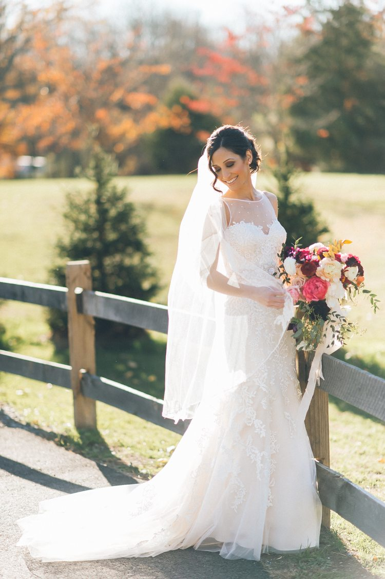 This Rustic New Jersey Barn Wedding Will Take Your Breath Away ...