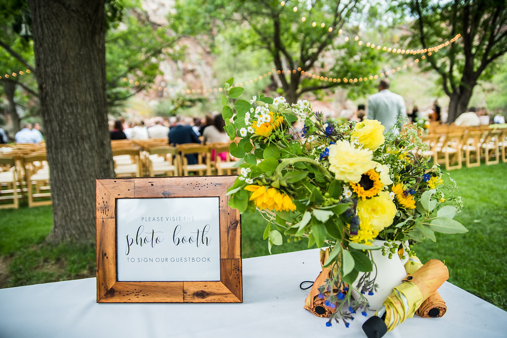 Backyard-Style Wedding at The Farmette in Lyons, CO