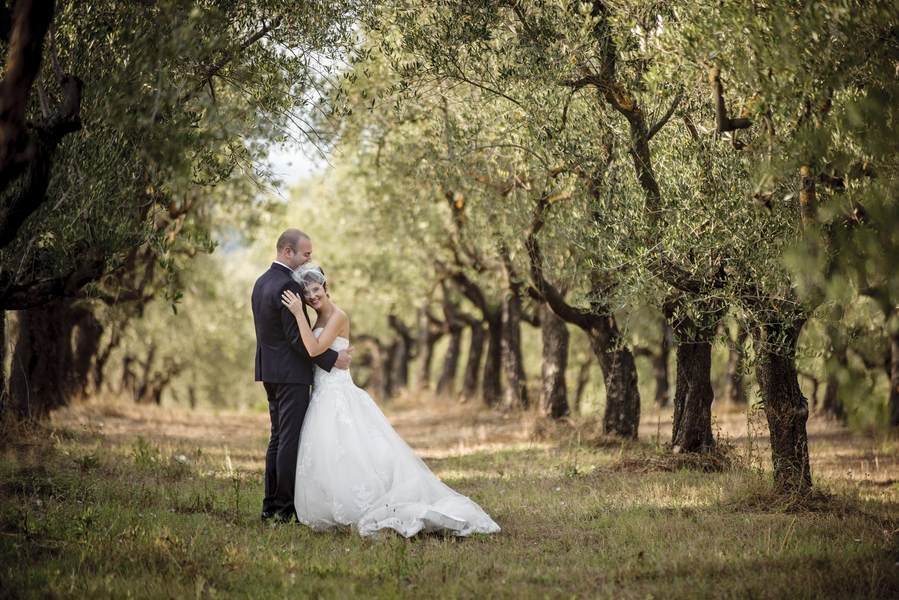 Italian Countryside Wedding in Florence, Italy