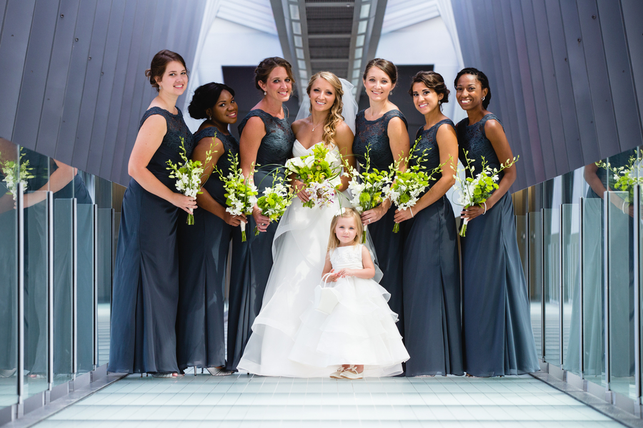 Simple and Modern Wedding at Grange Audubon Center in Ohio