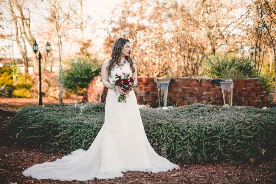 Gorgeous Marsala Wedding Styled Session in Gray Gables, NC