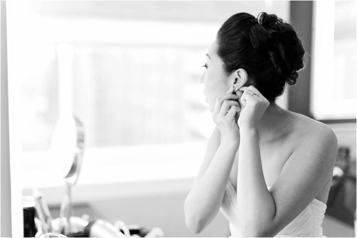 bride doing makeup rookery