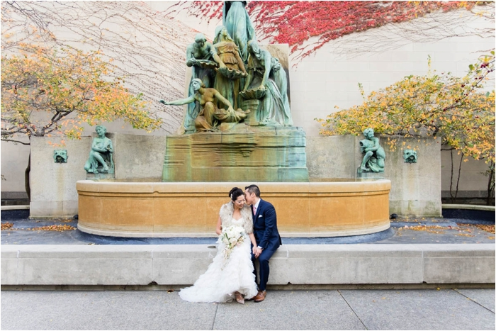 Stunning Wedding At The Rookery In Chicago