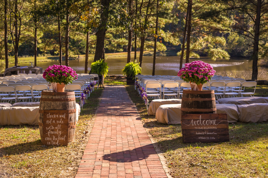Rustic Fall Wedding at Stonewall Farms North Carolina