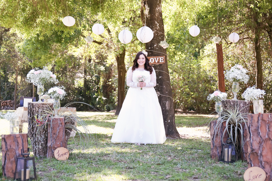 DIY Backyard Wedding in Florida