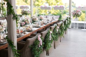 Small Wedding Table Decor