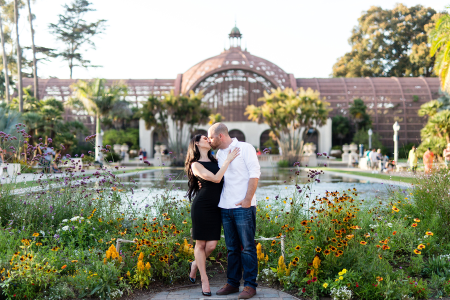 Gorgeous Engagement Photos in Balboa Park, San Diego, CA