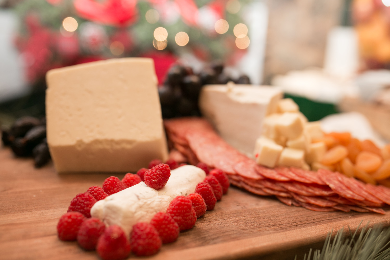 meat and cheese appetizer Christmas Wedding Ideas In December