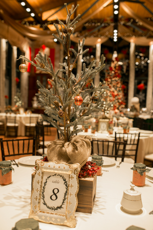 A Gorgeous December Wedding Full Of Christmas Wedding Ideas