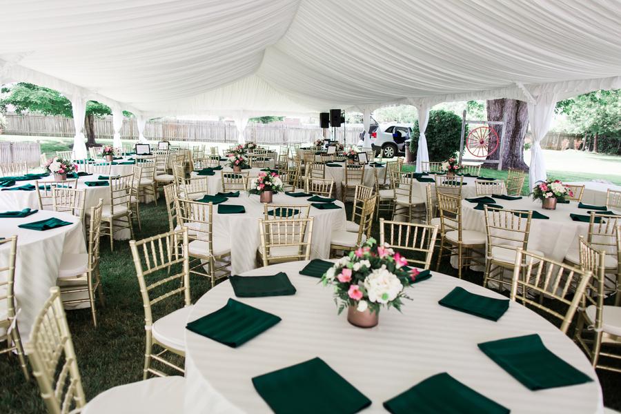 Emerald Green Wedding At Fincastle Country Club Glittery Bride