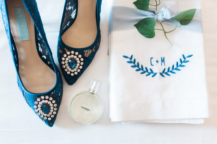 navy blue wedding shoes