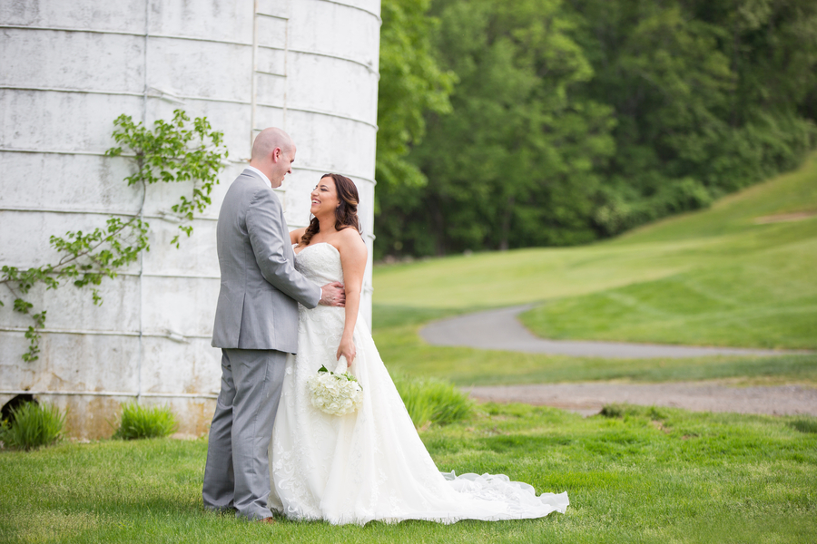 rustic golf club wedding