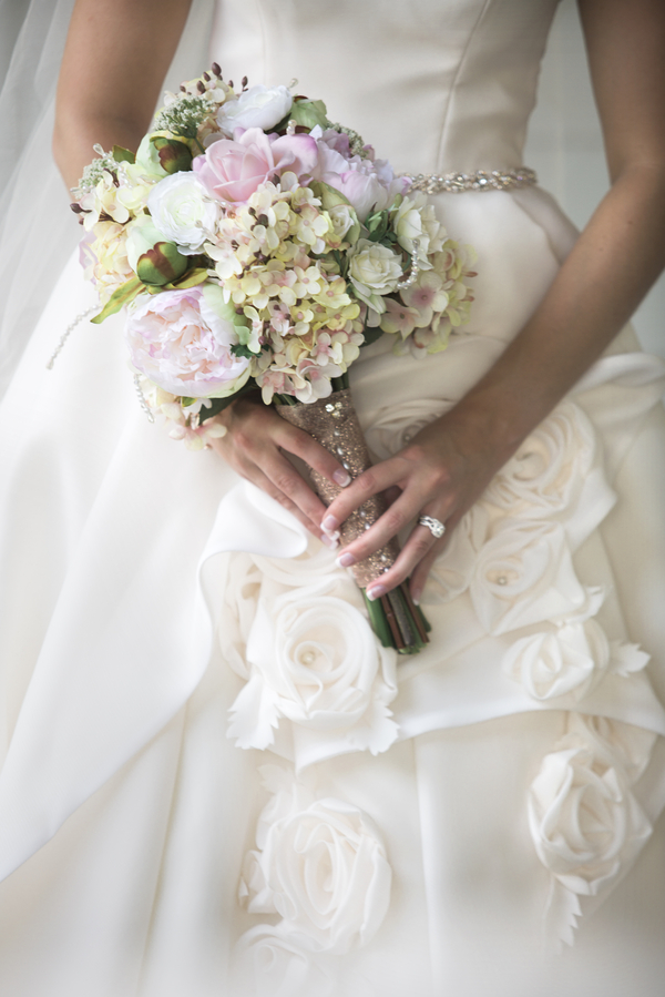 White, Rose Gold and Blush Fairy-tale Wedding In Tennessee