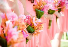 hawaiian themed wedding