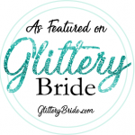 Featured on Glittery Bride