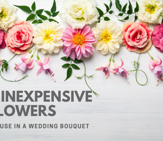 5 Inexpensive Flowers To use in a wedding bouquet