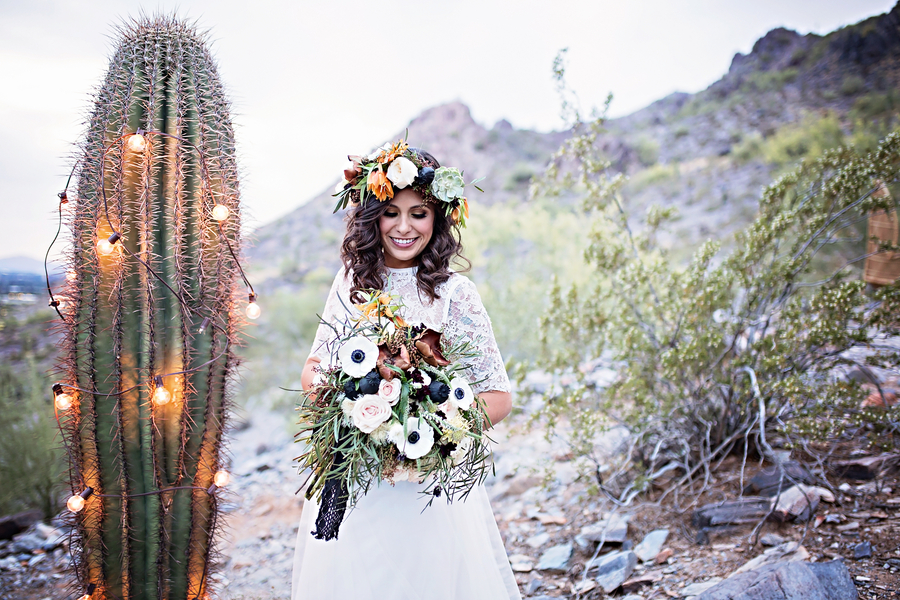Industrial Desert Wedding Inspiration