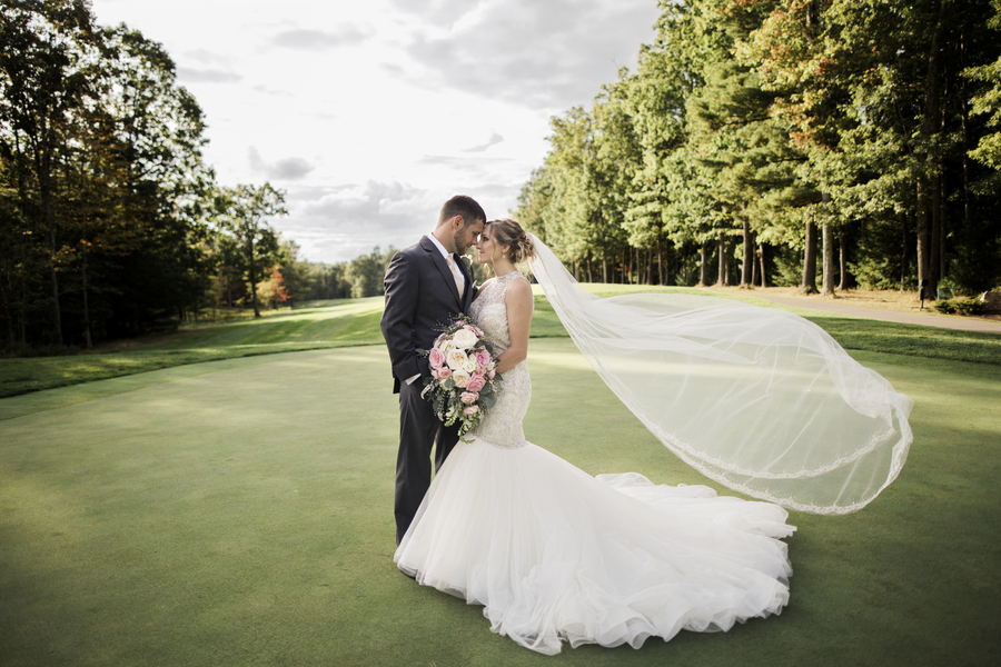Romantic Wedding at The Resort at Glade Springs