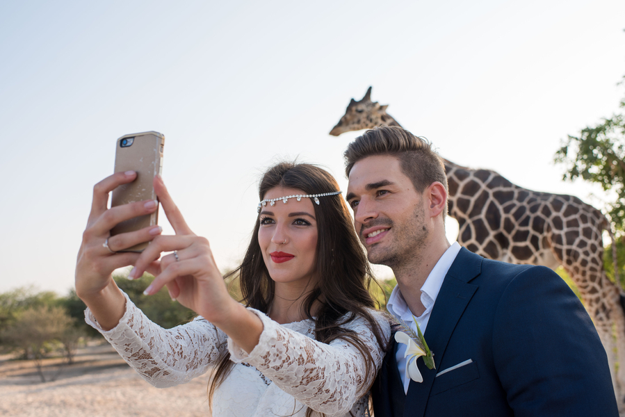 Safari Elopement in Dubai