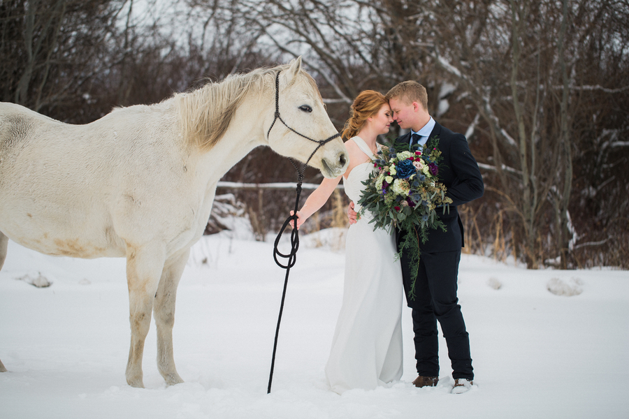 Winter Fairytale Wedding