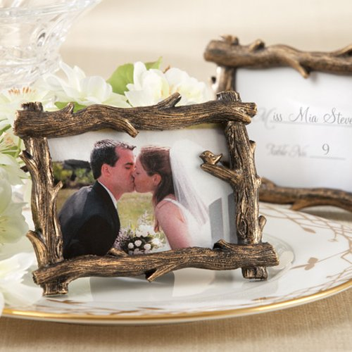 fall branch wedding favor frames