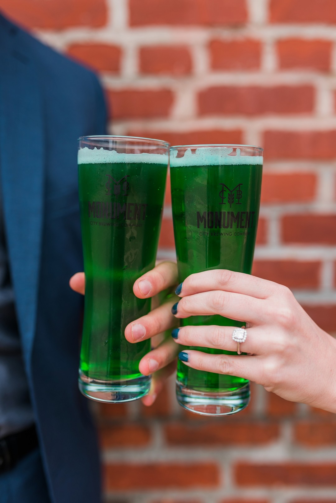 green beer engagement ideas