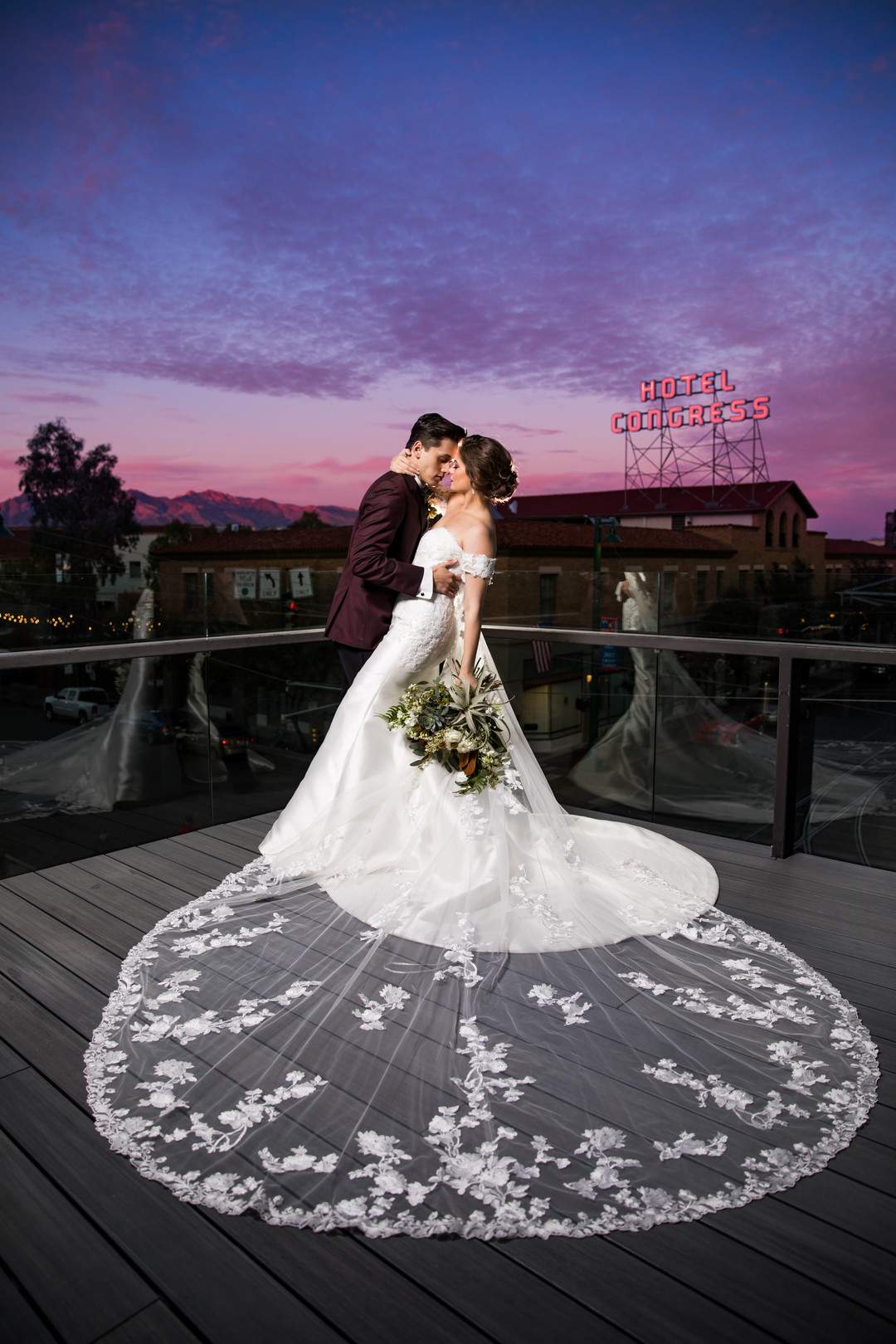 tuscon wedding photo hotel congress