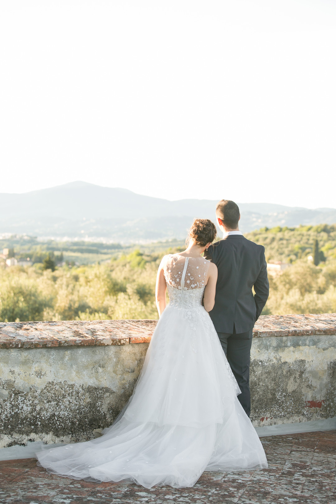 Tuscan Hills Wedding Photo