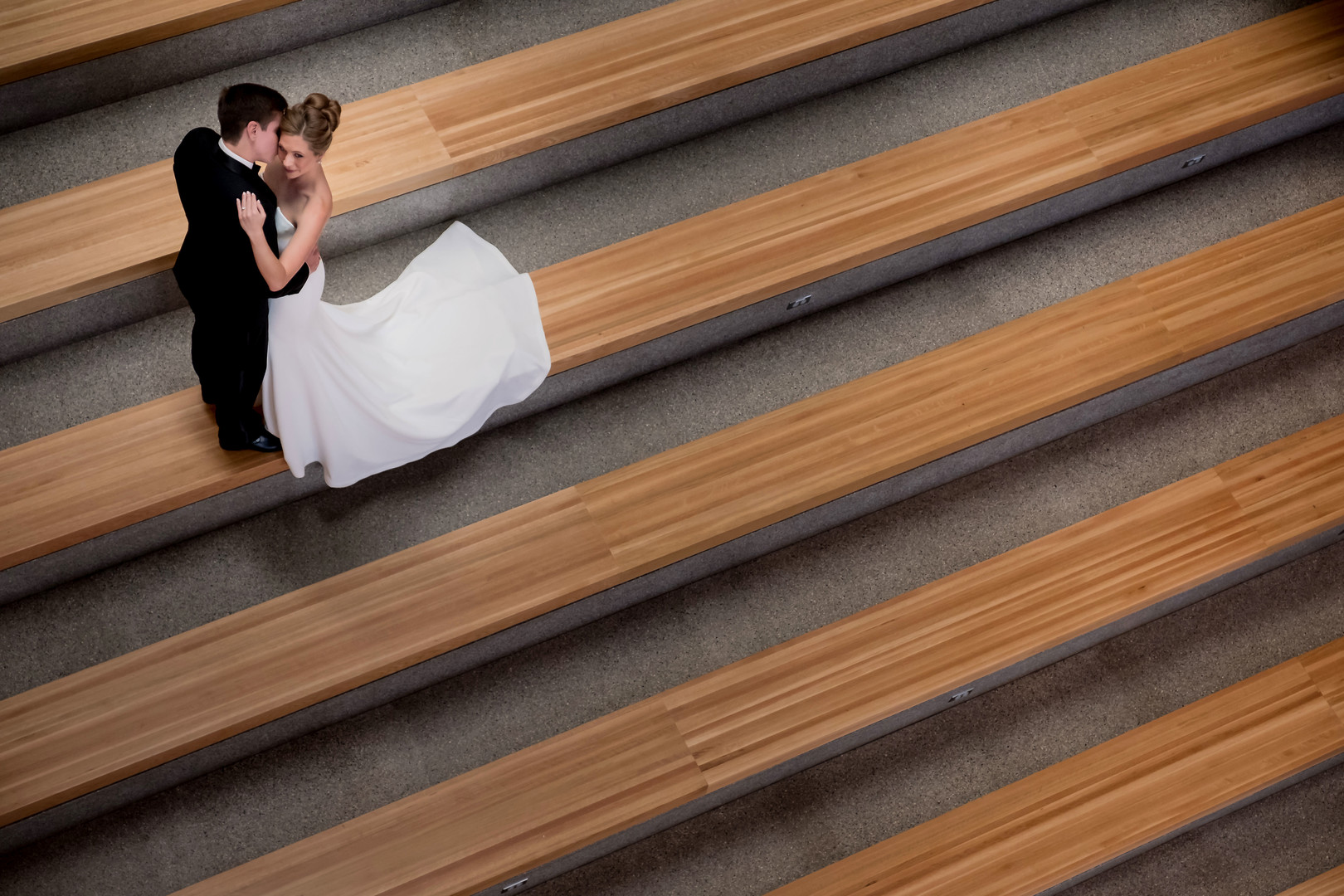 Austin Public Library Wedding