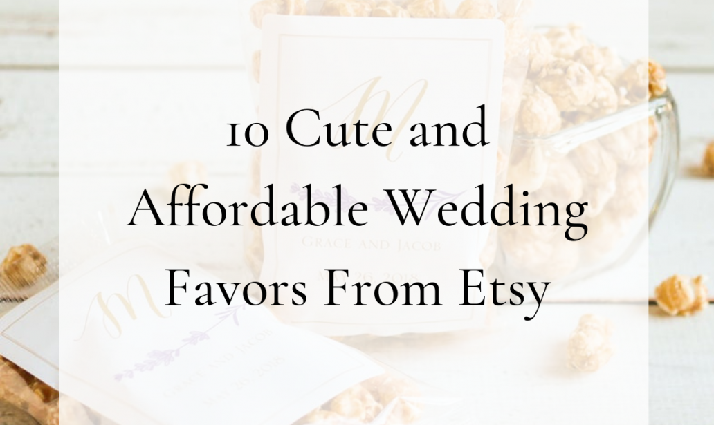 affordable wedding favors