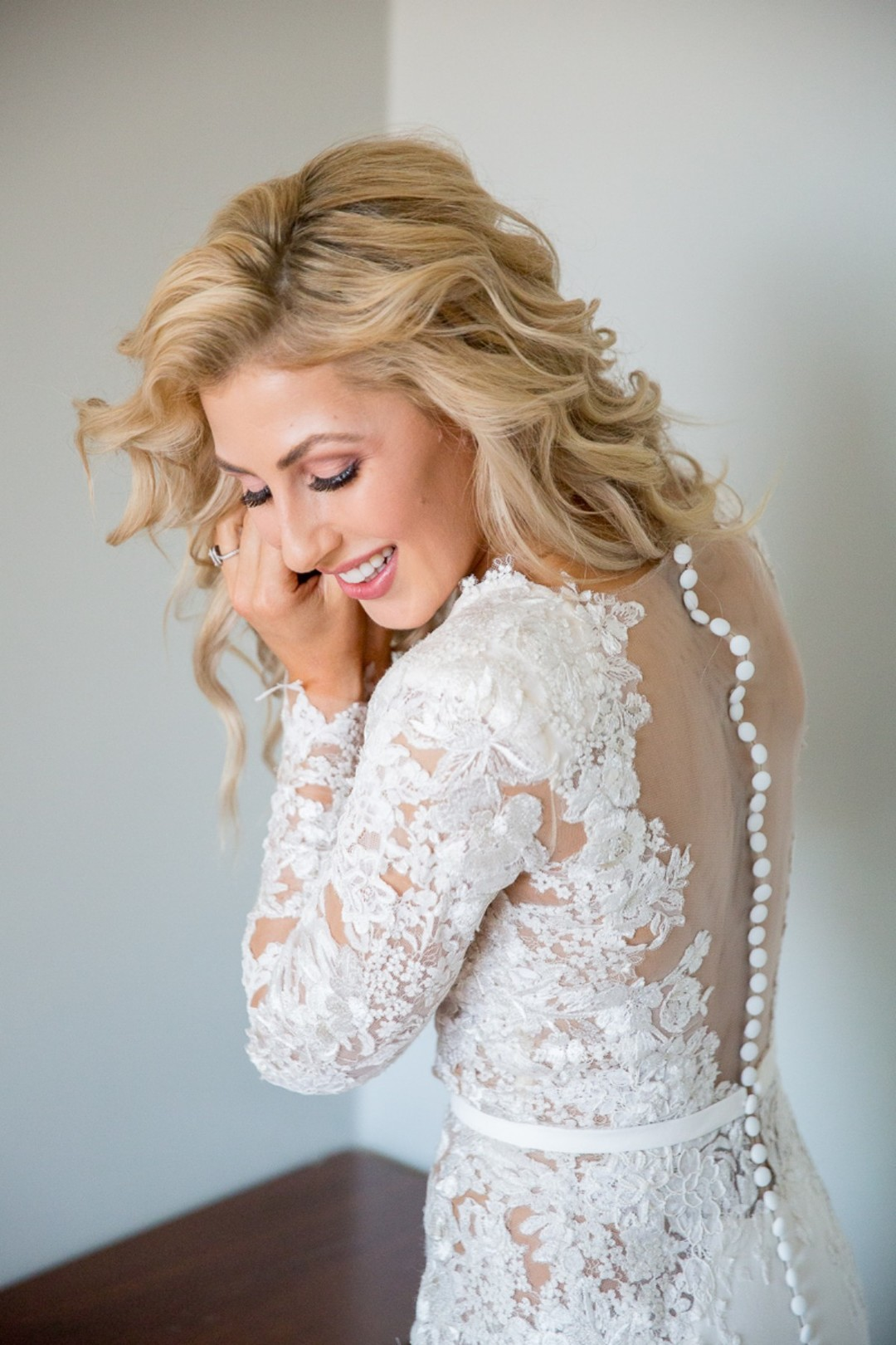 DWTS' Emma Slater and Sasha Farber's Wedding, Bella Blanca Event Center, Emma Slater getting ready for wedding