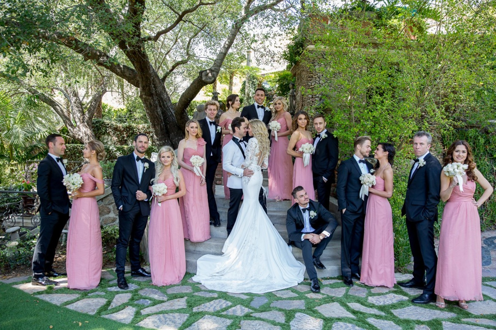 DWTS' Emma Slater and Sasha Farber's Wedding, Bella Blanca Event Center, Emma and Sasha's bridal party