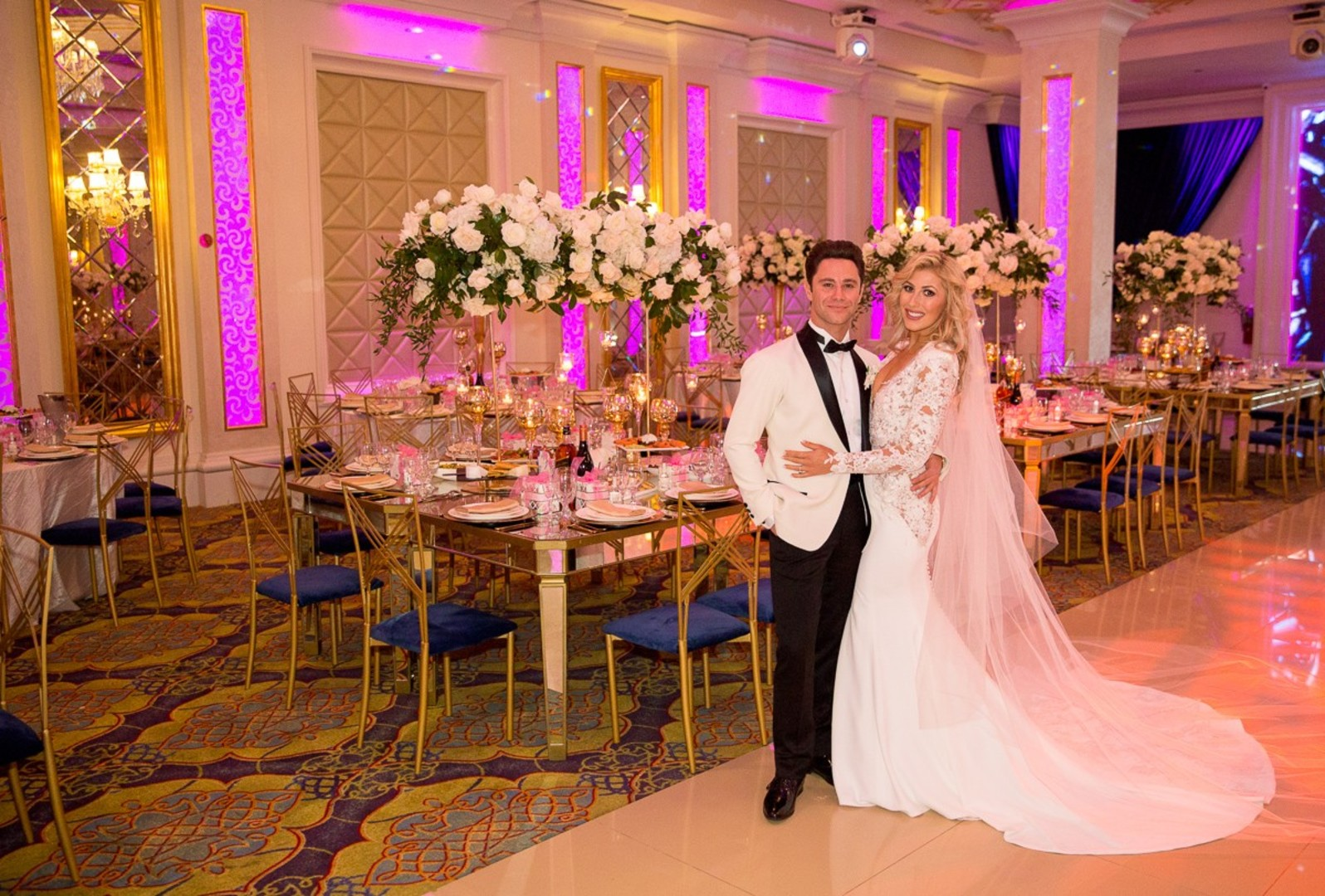 DWTS' Emma Slater and Sasha Farber's Wedding, Bella Blanca Event Center, Emma and Sasha's wedding reception reveal