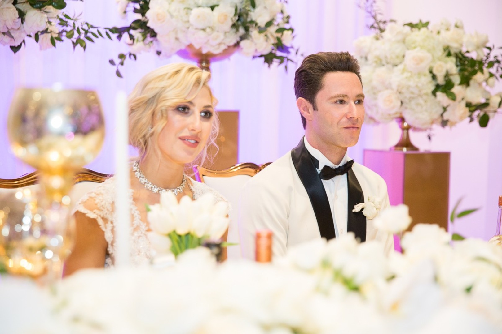 DWTS' Emma Slater and Sasha Farber's Wedding, Bella Blanca Event Center, Emma and Sashas Sweetheart table
