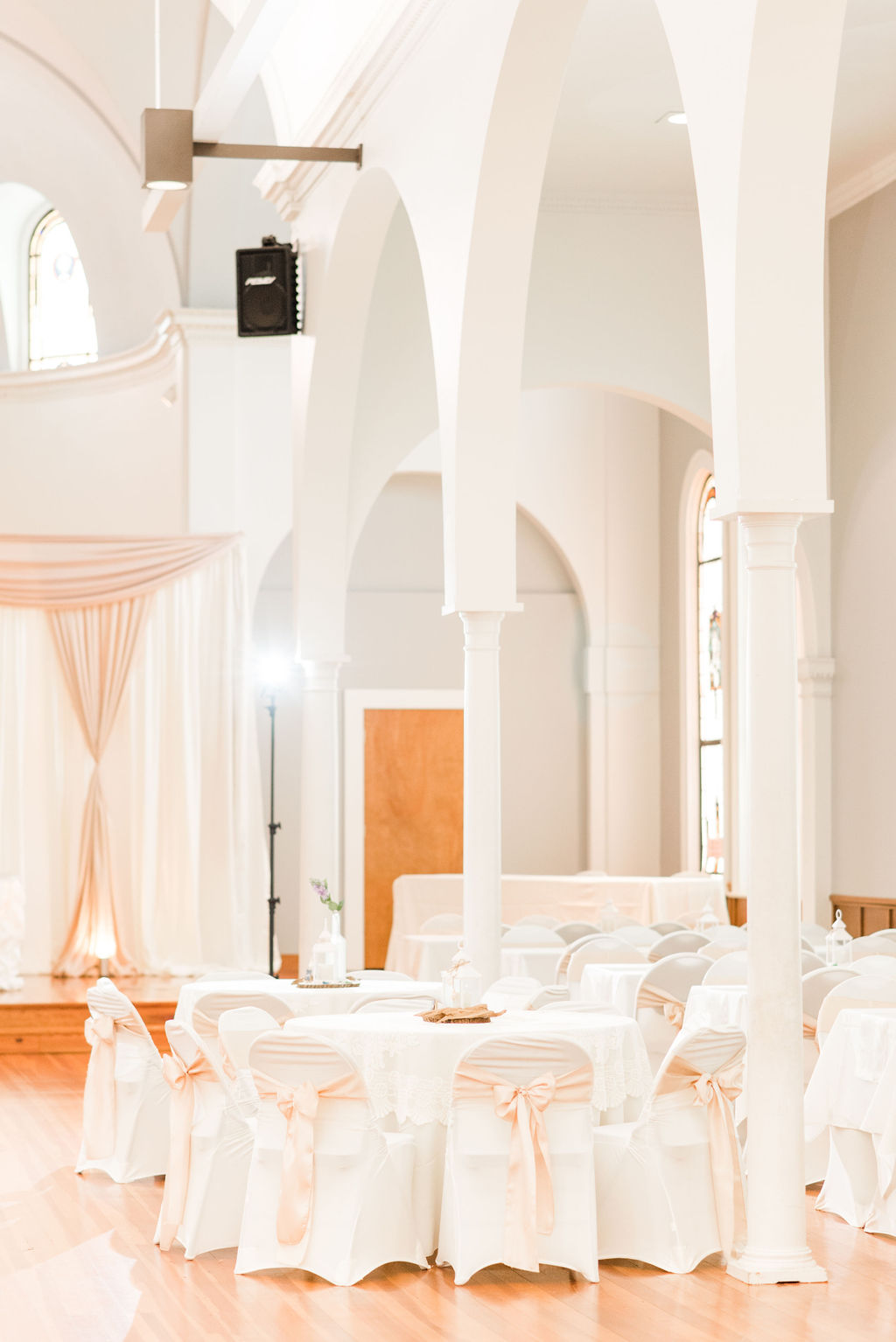 Church wedding reception ideas