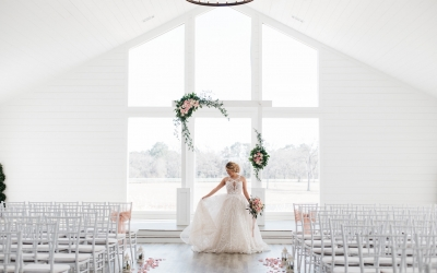 The Farmhouse Montgomery Texas Styled Spring Wedding
