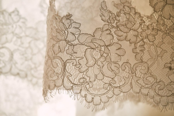 lace close up Radiosa Atelier wedding dress