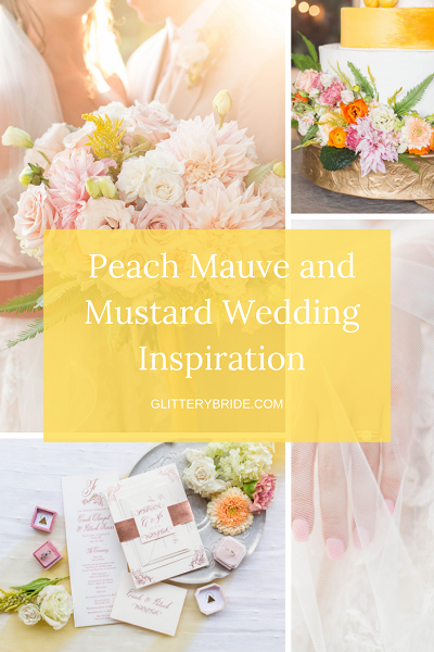 PEACH MAUVE AND MUSTARD WEDDING INSPIRATION