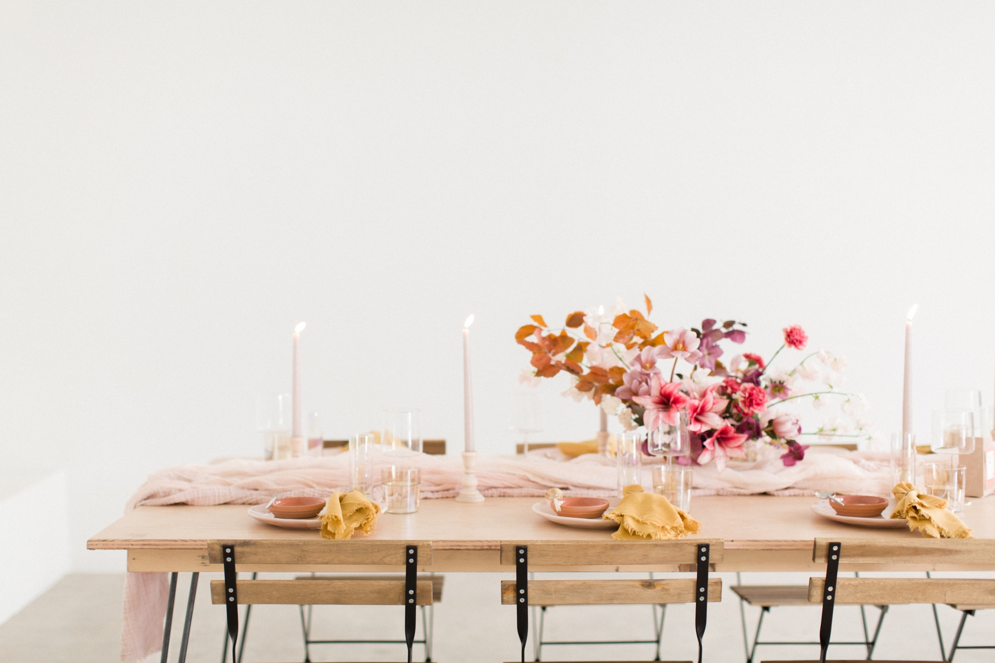 rehearsal dinner table ideas