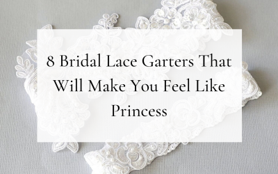 8 Lace Garters That Will Make You Feel Like Princess