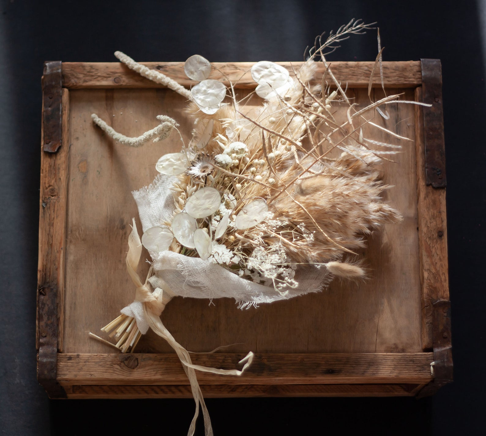 Rustic Dried Flower Bouquet