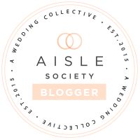 aisle society blogger badge