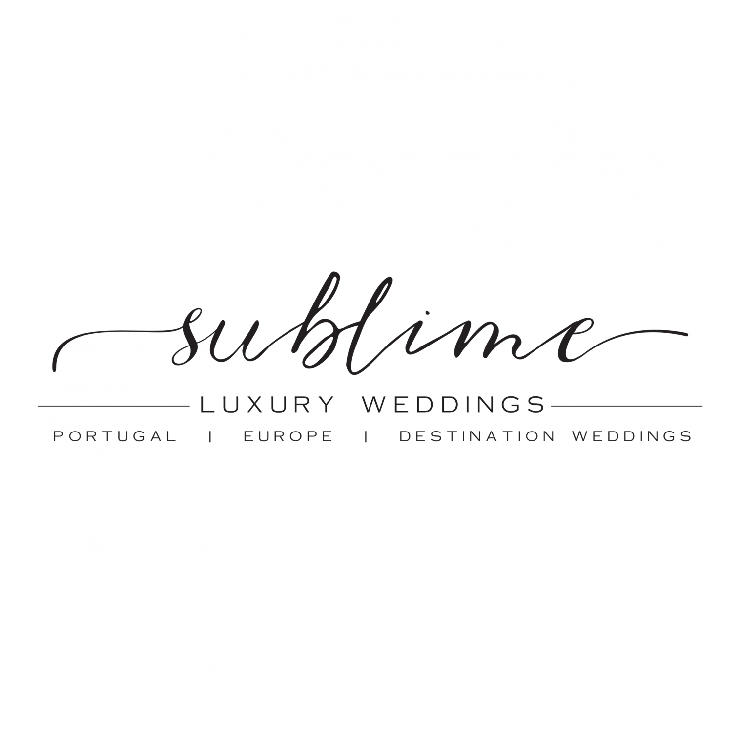 Sublime Luxury Weddings Logo