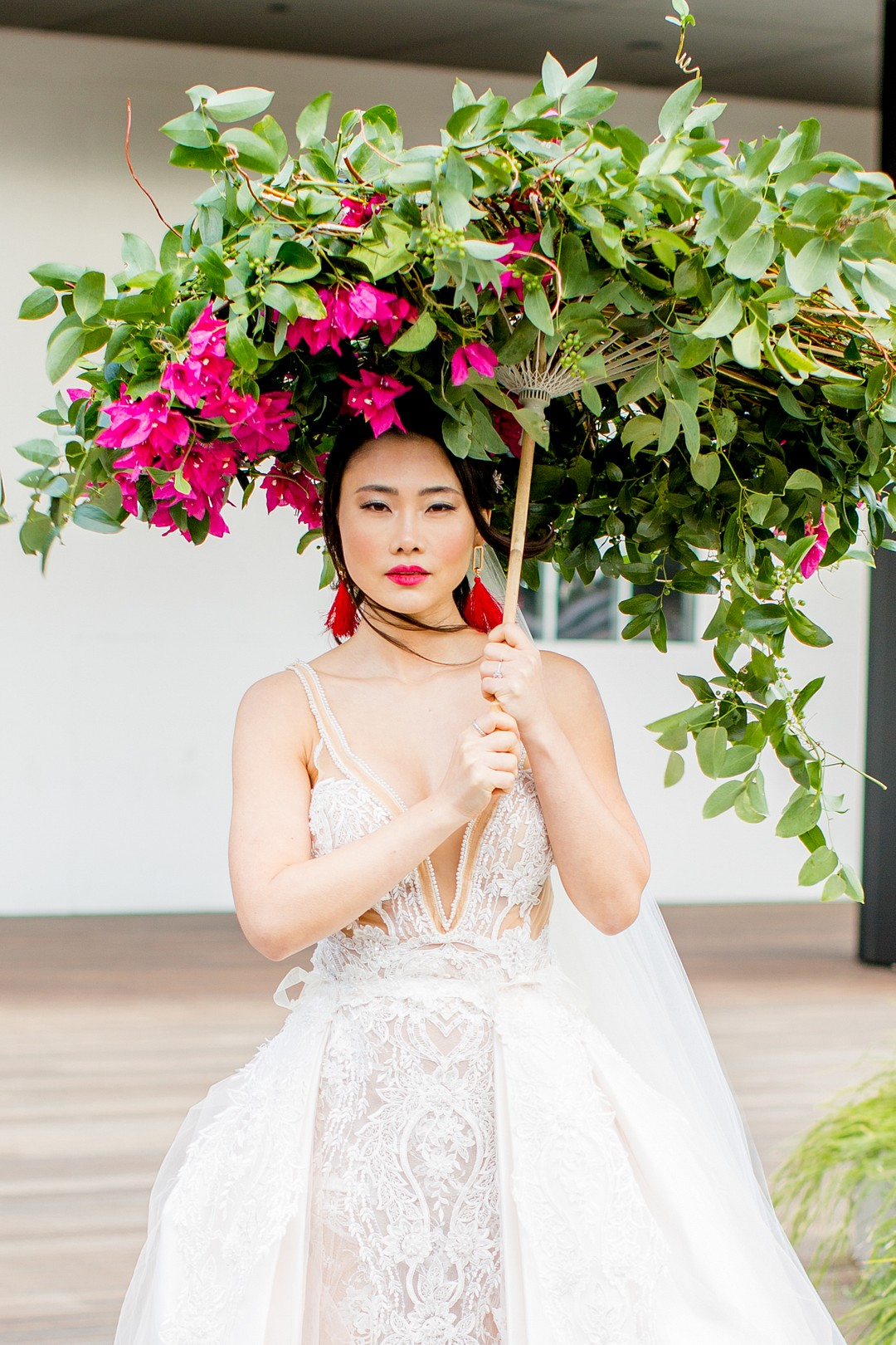 high fashion chinese bride