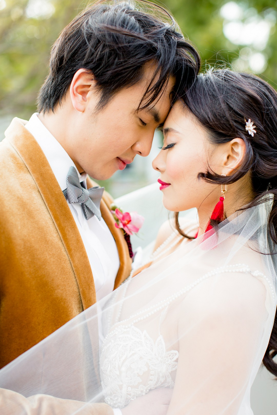 asian inspired wedding ideas