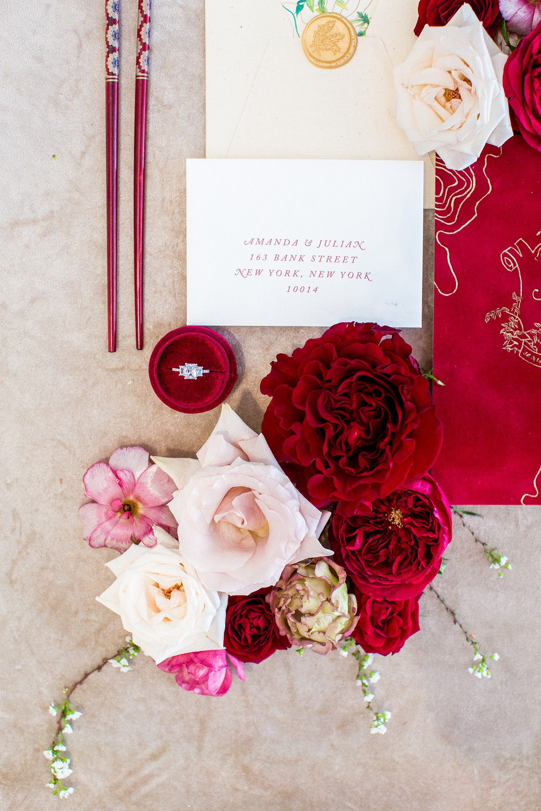 chinese new year wedding invitations