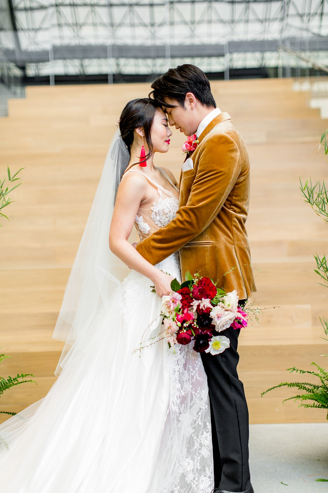 gorgeous Asian inspired wedding
