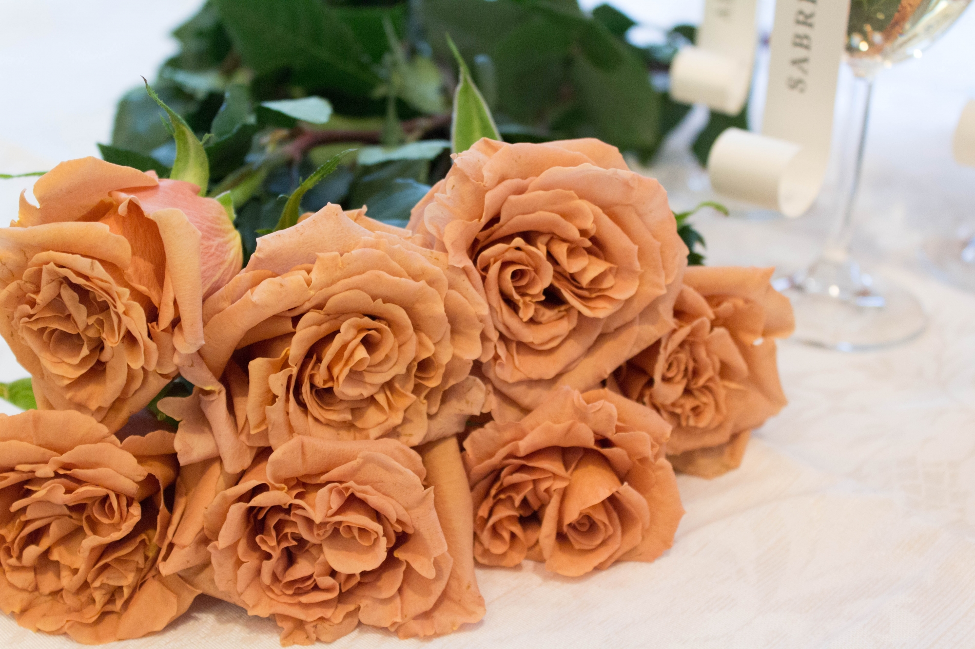 Toffee Roses - FiftyFlowers