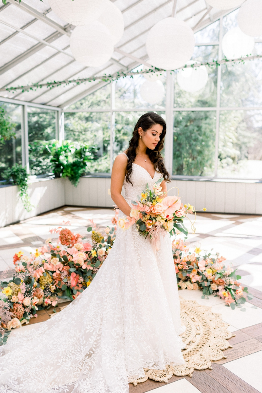 Luxury Greenhouse Wedding