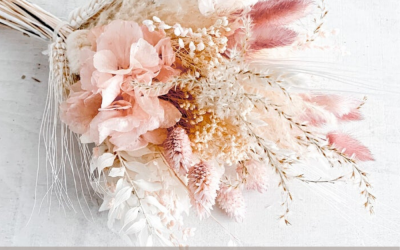 Trend Edit: Dried Wedding Bouquets We LOVE!